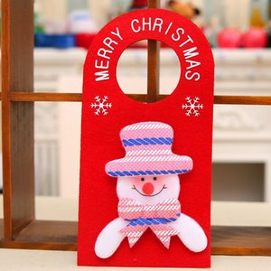 Merry Christmas For Home Hotel Door Hanging Pendant Ornament Christmas Decoration Xmas Gift New Year Party Decoration KKB2778