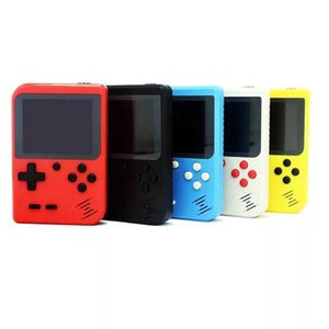 Mini Portable Handheld Video Game Console Retro 8 Bit Game Player 400 FC Plus Games 3 In 1 AV TV-Out Pocket Gameboy Color LCD