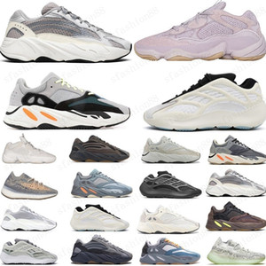 2021 Горячие 700 Мужские Женщины Беговые Обувь Кроссовки Новая Больница Синий 700 V2 Магнит Тефра Лучшее Качество Спортивная обувь