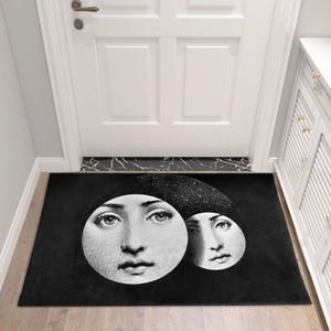 Fornasetti Carpets Room Corridor Access Bathroom Nordic Home Indoor Floor Mat Bedroom Bedside Carpet Mat Kitchen Tatami Rug
