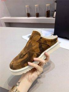 Womens renk eşleştirme yarım terlik yıldız, yumuşak yün thick- alt slippers Eşleştirme Paketli rahat ayakkabı kaplı