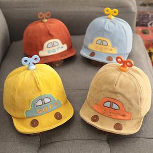 Chapeaux chapeaux bébé chapeau chien dessin animé voiture coréenne voiture oreilles coton baseball printemps été garçon fille sonnette sonnette enfants pographie accessoires