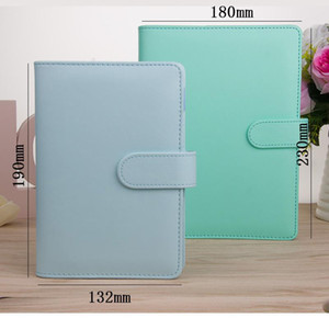 A5 A6 Notebook Binder Loose Leaf Notebooks Refillable 6 Ring Binder for A6 Filler Paper Binder Cover with Magnetic Buckle Closure
