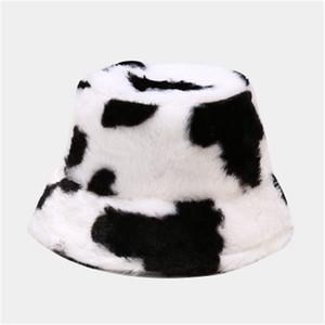 New Unisex Sun Hats Women Winter Fashion Plush Hat Men Pure Color Outdoor Fisherman Hat Visor Basin Cap