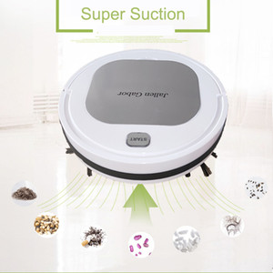 Automatic Vacuum Cleaner Robot Automatic 3 In1 USB Charging Vacuum Cleaner Poweful Suction Pet Hair Home Dry Wet Sweeping Mopping Cleaning