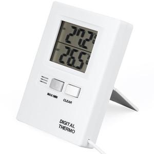 الخيالة جديدة في الأماكن المغلقة في الهواء الطلق العرض الرقمية LCD الرطوبة درجة الحرارة الرئيسية الحائط الجدول ميزان الحرارة رطوبة بالجملة DBC BH4155