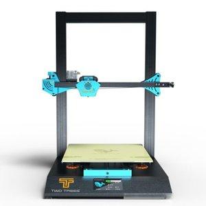 طابعة TWOTREES 3D زرقة PLUS BMG الطارد I3 ميجا كبير الحجم الإطار المعدني شاشة عالية الدقة تعمل باللمس عدة طابعة 3D مع PEI