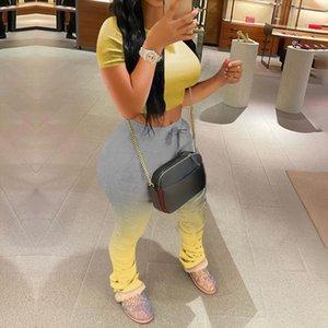 CYSINCOS 2020 Women Sports Suit Set Top Short Pants Workout Clothes Tracksuit Fashion Summer Outfit Ladies Casual 2 Piece Set