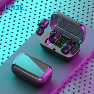 XG21 Macaron Wireless Headset Mini Sports Digital Display Earbuds TWS Bluetooth 5.0 Binaural Call Earphones