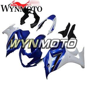 Kit di carenatura per il 2009 Suzuki Katana 2008 2010 2011 2012 2012 Bodywork GSX650F 08 09 10 11 12 13 ABS Cavalletti di plastica blu bianco