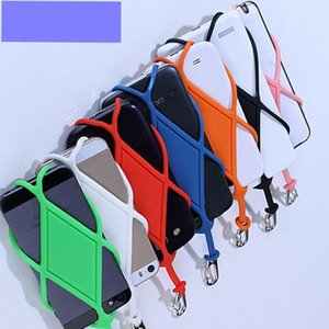 Universal Silicone Cell Phone Lanyard Holder Case Cover Neck Strap Necklace Sling For Smart Mobile Phone Lanyard