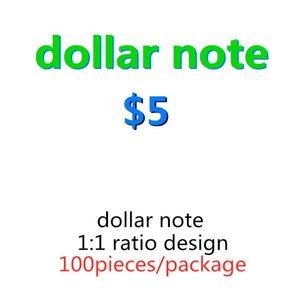 Долларные часы Быстрая Доставка Счеты на доставку 24 Заготовка EURO 10 Образная валюта Faux 5 DIY Детская игра Регистрация США Simulat RBVWE