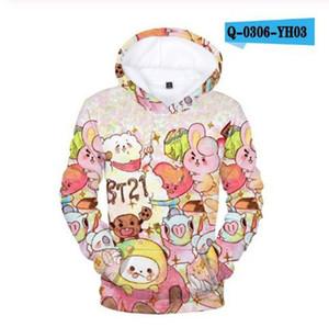 D baby Mario Sonic boy clothes Super Mario hoodies for teen girl kids Sweatshirts Autumn Casual pullover Streetwear