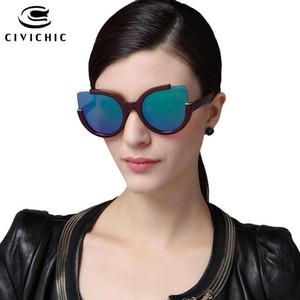 Civílicas de moda caliente gatos ojos lunestes hd gafas de sol mujer espejo gafas conduciendo gafas clásicas cool gafas E137