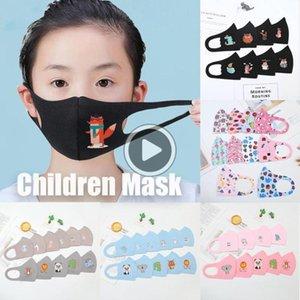 Nuove maschere di PM2.5 Reatale antinquinamento cildren ragazze OYS bambini Jamil maschere Fa cotone del fumetto Earloop Wasale Maschera anti-polvere Mout Nuovo PM2. Bwwg