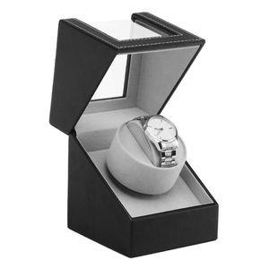 EU US AU UK Plug Watch Winders Automatic Mechanical Watch Box Display Case Holder Luxury High Class Motor Shaker PU Leather