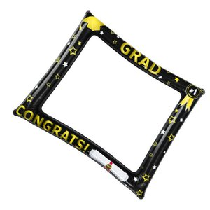 2pcs Photo Frame Beautiful Fun Creative Photography Picture Accessories Photo Prop Frame Decoration for Graduation Party