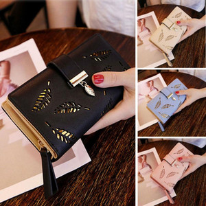 Fashion Women Clutch Leather Wallet Long Card Holder Phone Bag Case Purse lady Handbags