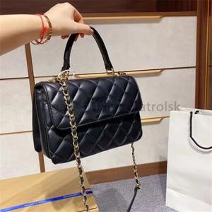 High Quality 2021 CC Luxurys Designers Lady Fashion Totes Clutch Bag Letter Handbags Diamond Lattice Chains Tote channel women Shoulder Bags