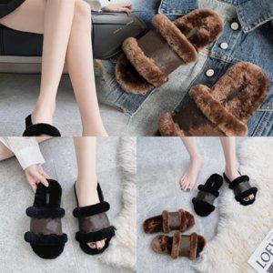 OAWQ1 Cómodos zapatillas de alta calidad para niños pequeños Baby Girls Ruffles Dener Slipper Sandalias Cuero Princesa Zapatos Zapatillas Niños Casual