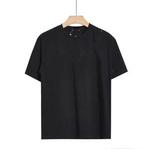 Designer Men's Coat Letter T-Shirt Flash Stampa T-shirt da uomo T-shirt da uomo e manica corta da uomo Lusso