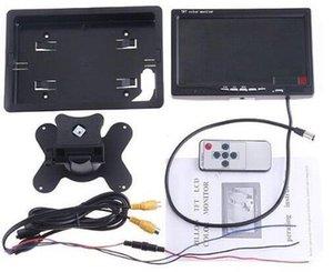 إدخال 7 بوصة TFT رصد سيارة سطح المكتب Pz708 800 RGB 480 بال NTSC 2 طريقة عرض الفيديو تلقائيا عندما عكس