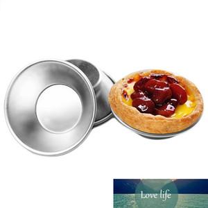 10 шт. Алюминиевый яйцо пищевой кекс прессформы фруктовый торт под давлением повторно используемый маленький инструмент для выпечки Pasteis de nata печь испечь