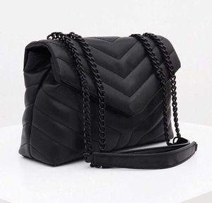 Sacs à main de designer Loulou en forme de Y matelassé en cuir véritable en forme de Y femmes sacs sac à bandoulière haute qualité sac de rabat de haute qualité couleur multiple pour choo