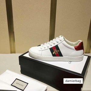 Casual As Serie bordado Deportes Zapatos de lujo de las zapatillas de deporte de las mujeres de los hombres de moda de calzado