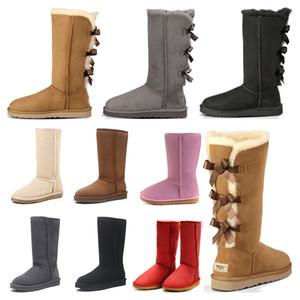зима Новые  Классические снежные сапоги Дешевые женские зимние сапоги мода скидка Ankle Plus хлопок Сапоги размер 5-10
