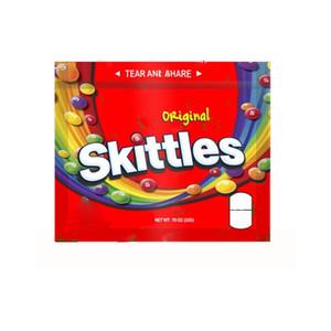 Medicado Esvaziar 400mg Skittles Bag dicated ácidas do arco-íris gomosos malas Original Seattle Mix ZOMBIE arco-íris Skittles Doces Embalagem