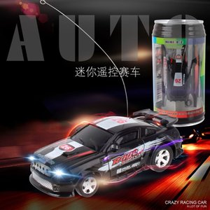 New Hengyue 9803 Mini pop coke can remote control top speed electric four-way model racing car