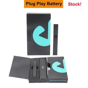 420 Plug Premium DNA Play Play Pape Pen Batteria 500mAh ricaricabile E sigaretta VAPorizer Kit di avviamento per la cartuccia di Pod Pod a olio spessa