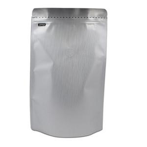 18.530.59.5cm Stand Up Block Zip Lock in alluminio Foil Bag Packaging Borsa con valvola di scarico Zipper Cibo Stoccaggio Pack Pack Pack 25pcs Lotto H Bbyzvh