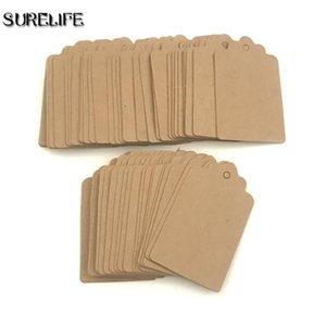 2000 adet Kraft Kağıt Etiketleri Jüt İle DIY Hediyeler El Sanatları Fiyat Bagaj Adı Etiketleri 2000 adet Kraft H Jllcbg