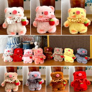 Teddy Plush For Air Pods Case Wireless Bluetooth Cover Earphone protector Accessories Charging Box For AP1 AP2 AP3