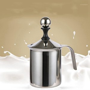 Coffee Leche Frother, Doble Acero Inoxidable Froth, Milk Coffee Frother1