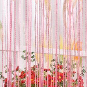 New Long Tassel Chain String Door Curtain Divider Sheer Window Curtain Valance Home Decor Window Screening Dropshipping