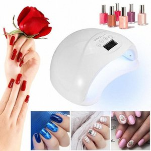 SUN5 plus Nail Dryer For Nail LED UV Lamp 48W MINI USB Lamp For Manicure LCD Display Drying All Gels Polish Art Tools pmXg#