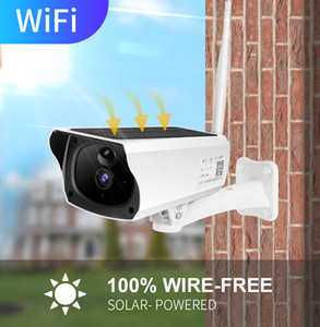 1080p HD Solar WiFi IP Camera Outdoor IP67 Night Vision Áudio PIR Alarme Camera CCTV Bateria