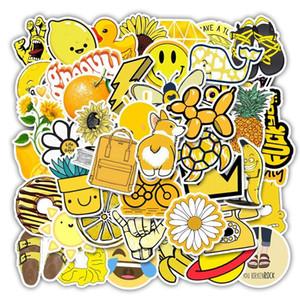 35 50pcs Vsco Sticker per bambini Adesivi per laptop Anime Bambini Pack Skateboard Moto Moto Vsco Giocattoli per bambini Adesivi animali freschi SQCSRW
