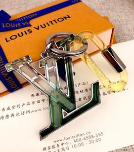 Prizma parlak geometrik şekil anahtarlıklar kadın moda güzel çanta anahtarlık / anahtarlıklar / keybuckle erkekler araba anahtarlıklar