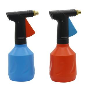 680ml pression réglable à la main en plastique pulvérisateur à gâchette cuivre Nozzle compression manuelle Vaporisateur 1 Pcs