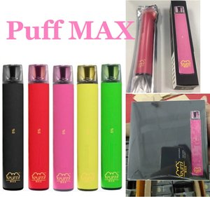 Puff MAX 2000 Puffs Disposable Device Pod 1200mAh Battery 8.5ml Vaporizer E Cigarettes Vape Pen Empty Starter Kits Disposable E-cigarettes