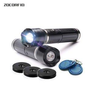 USB port flash light waterproof EM RFID guard patrol system with English version software +10pcs Checkpoint