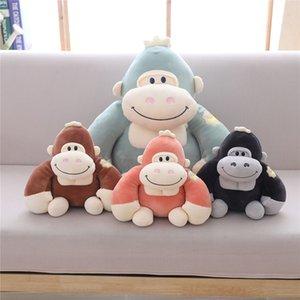 Мальчик и орангутан Плюшевых девушек 28 38/48 см, шимпанзе кукла, украшение леса животного