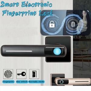 Smart Electronic Fingerprint Door Lock Security Safe Tools USB for Home Office FKU66 201013