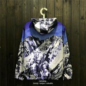 Veste coupe-vent Hommes Femmes Outdoor Imprimer Veste Randonnée Sport Homme manteau à capuchon Vêtements Escalade Chamarras Para Hombre
