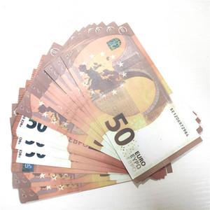 04 Simulazione calda di 50 euro Giocattolo contraffatto Valuta Puntelli cinematografici Dollari US Dollari Note di allenamento Bar Game token