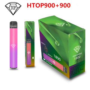 1800+puff bar Disposable Vape pen Pods Device l 900mAh Battery 1800 puffs Puff Bar Pre-filled Kit disposable e cigarettes